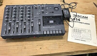 Tested Tascam Portastudio 414 - 4 Track Cassette Recorder Working Condition