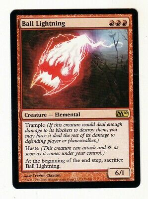 1 x Ball Lightning rare creature from M10 (MTG)