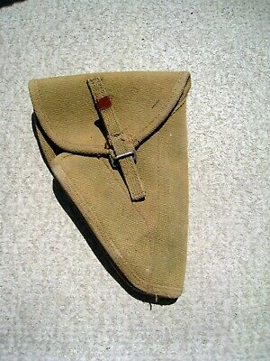 Wwii Canadian Inglis Browning Hi Power Holster Dated 1946