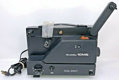 Bell & Howell 10MS Dual Eight 8mm Movie Projector With Power Cord for Parts