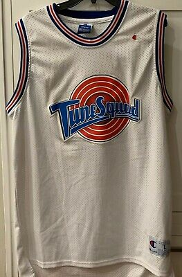 "Champion ""Tune Squad"" Space Jam Jersey #23 Michael Jordan youth Large Sewn"