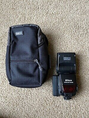 Nikon SB-800 Speedlight Fash With Battery Expansion And Soft Case