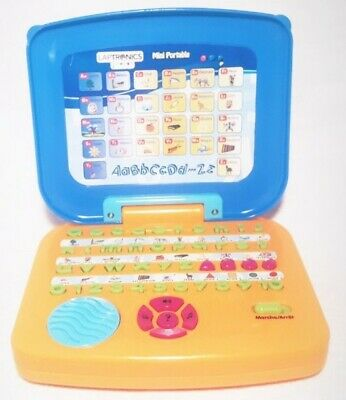 LAPTRONICS JUNIOR MINI PORTABLE PC Educational Toy Interactive French Learning
