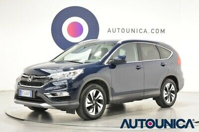 Honda cr-v 1.6 i-dtec lifestyle connect at 4wd solo 71.892 km