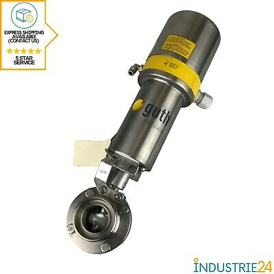 Guth Disc Valve With Control Head DN40 New / New