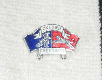 Oxford  Speedway Badge Silver