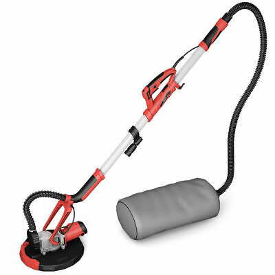 Electric Drywall Sander Adjustable Variable Speed with Vacuum and LED Light