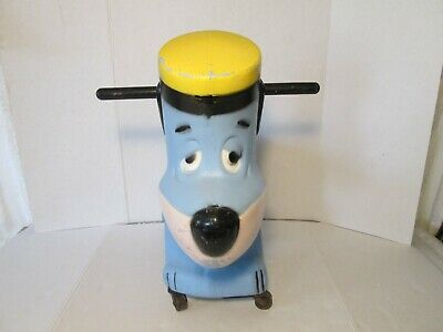 L@@K Rare Estate Find Huckleberry Hound Ride On Toy 1960 Free S/H Only $145 !!