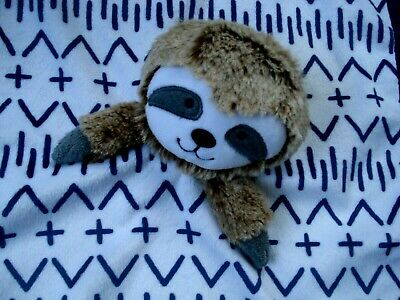 Cloud Island Sloth Infant Security Blanket NEW