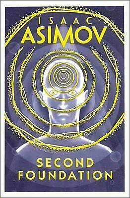 Second Foundation by Isaac Asimov (English) Paperback Book Free Shipping!