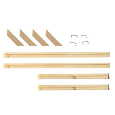 Gallery Wood Office Home Strips DIY Stretcher Bars Canvas Frame Kit Oil Painting