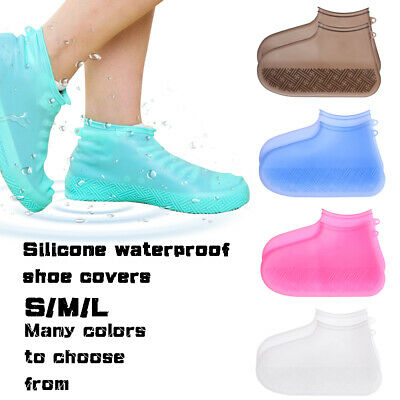 Rainproof Silicone Rain Boots Slip-resistant Shoe Covers Footwear cover