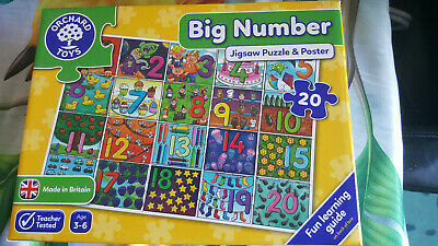 Home Education/Learning Resource   Big Number Age 3-6 years