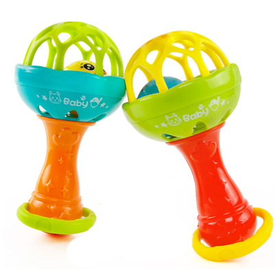 Infant Baby Ball Toy Hand Bell Rattles Development Intelligent Educational Toys