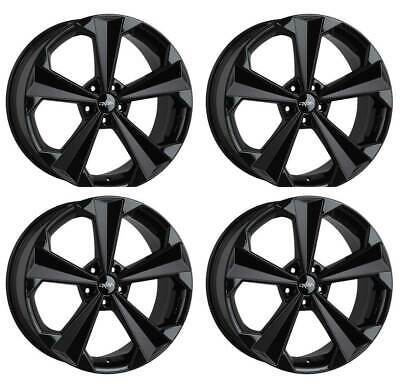 4 Oxigin Felgen 22 OXRS 9x20 ET28 5x112 SW für Audi A4 A5 A6 A7 A8 Q5 RS6