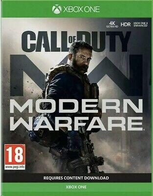 Call of Duty: Modern Warfare 2019 (Xbox One) *READ DESCRIPTION WELL . NO DISC