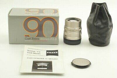 [TOP MINT IN BOX] Contax Carl Zeiss Sonnar T* 90mm f2.8 G1 G2 From JAPAN #217