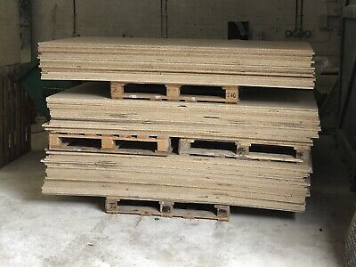 chipboard sheets 8ft X 4ft.. 18mm Thick