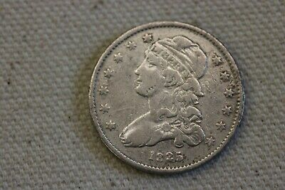1835 Capped Bust Quarter, Scarce Early Collector Silver