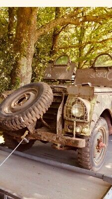 Series 1 armoured landrover 1952