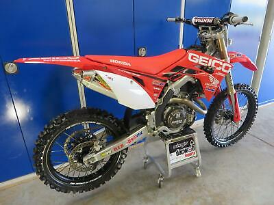 Honda CRF 450 2019 only 28 hours,pro circuit pipes,sm pro wheels,geico graphics