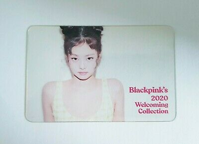 BlackPink JENNIE Limited Photocard Official 2020 WELCOMING