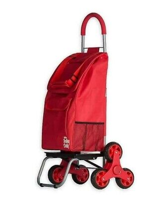 Trolley Dolly, Forget-Me-Not Shopping Grocery Foldable Cart Climbing Wheel