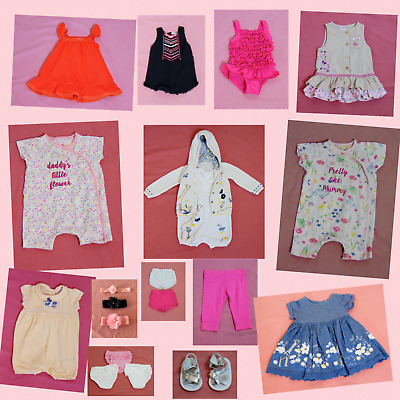 Baby Girls' Clothes Bundle 20 Items Job Lot 3-6 months