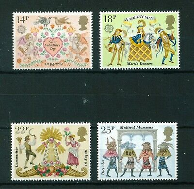 GB 1981 Folklore full set of stamps, MNH. Sg 1143-1146.