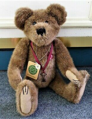 "Boyds Bears Remington Braveheart Archive Collection  20"" W/Key & Tags"