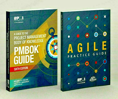 PMI PMBOK Guide 6th Edition 2018 + Agile Practice Guide High Quality[P.D.F]💻