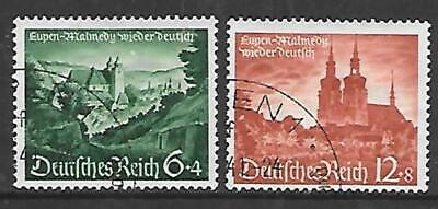 GERMANY 1940.  Eupen & Malmedy & Culture Fund - Set of 2, Used.