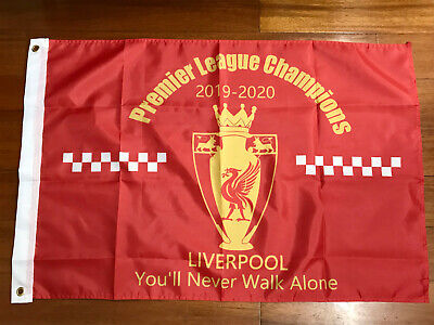 5ft × 3ft 2020 Liverpool League Champions Winners Flag Banner Gift Souvenir
