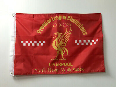 5ft × 3ft 2020 Liverpool League Champions of England Winners Flag Banner Gift