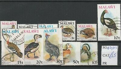 SM1427 - Malawi 1975 Birds set to 1K used