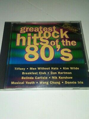 Various Artists : Greatest Rock Hits of the 80's / Various Rock Disc CD
