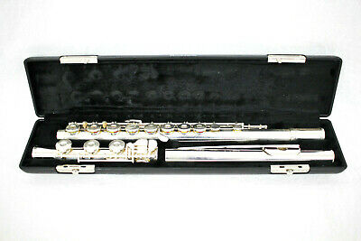 GEMEINHARDT MODEL 3SB SOLID SILVER OPEN HOLE FLUTE - Intermediate