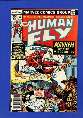 Human Fly #8 Nm- 9.0/9.2 High Grade Bronze Age Marvel