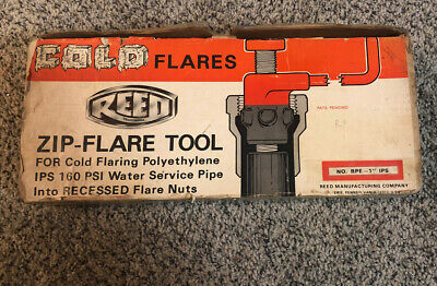 Zip Flare Tool For Cold Flaring Plastic Tubing