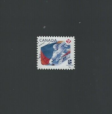 Canada 2009 Ice-Sled Counterfeit  (untagged stamp) Used