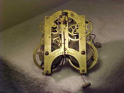 Ansonia 5 1/2 Clock Movement , CLEANED AND RESTORED