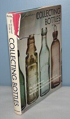 VINTAGE Book 1970 COLLECTING BOTTLES 1,000+ Illustrations! CECIL MUNSEY