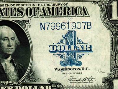 $1 1923 (( ALMOST UNCIRCULATED ))  Silver Certificate * MORE CURRENCY FOR SALE