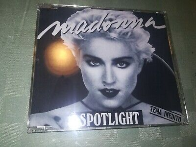 Madonna Spotlight Spain promo cover Dj Cd Single jewel case