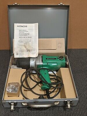 "Hitachi Impact Wrench WH22 22mm 3/4"" 950W - Made in Japan - RRP$849"