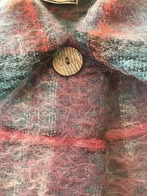 Andrew Stewart Mohair /Wool Cape ,Woven in Scotland