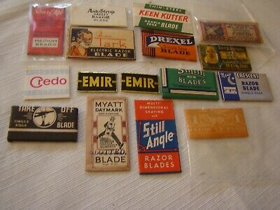 Collector / Shaving safety razor blades Lot new-old-stock NOS !!