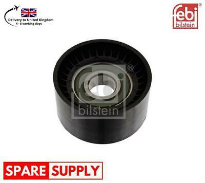 Aux Belt Idler Pulley fits NISSAN PRIMASTAR X83 2.0 2002 on Guide Deflection