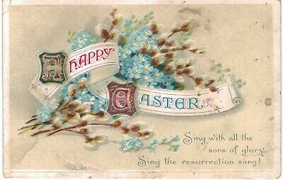 Clapsaddle Easter Uns Resurrection 1910 A/S