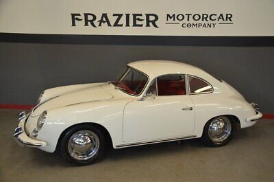 1960 Porsche 356  T5 B  48 year Stewardship of same owner 60 T5 1600 white red 356 Coupe